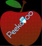 Red Apple Jigsaw Puzzle Scissor Skills Practice & Problem solving