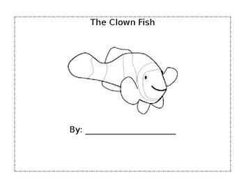 Clown Fish Writing Packet