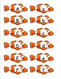 Clown Fish with Upper and Lowercase letters