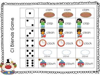 Clown Rhyme & Activities:  SLP. 4K, ECH, Kindergarten Intervention