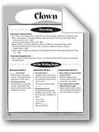 Clown Shape Book