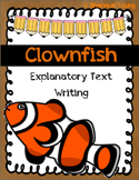 Clownfish Explanatory Text Writing