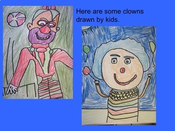 Art Sub Plan - Clowning Around