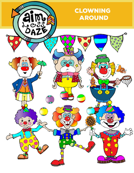 Clowning Around-Clown Clip Art