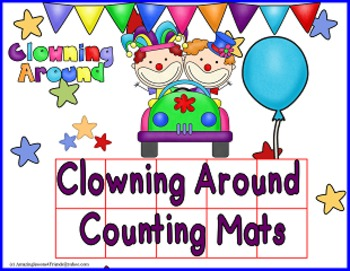 Clowning Around Counting Mats