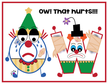 """Clowning Around (""""OW"""" and """"OU"""")"""