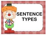 Clowning Around - Sentence Types