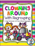 Clowning Around With Regrouping {3-Digit Subtraction} - 5 Math Centers