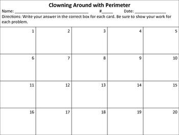 Clowning Around with Perimeter