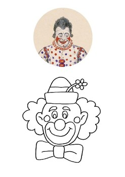 Clowns Word Search