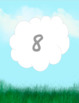 Clouds numbers and alphabet