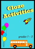 Reading for Meaning, Cloze Activities