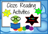 Google Cloze Digital Interactive Notebook Reading Passages
