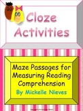 Cloze Activities: Reading Comprehension Maze