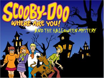 Cloze Activity for Halloween