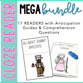 Cloze Reader & Comprehension {Bundle}
