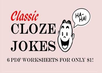 Cloze Reading Jokes