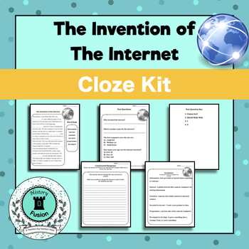 Differentiated Cloze Kit-Invention of the Internet