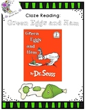 """Cloze Reading Passage for Dr. Seuss' """"Green Eggs and Ham"""""""