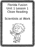 Cloze Reading for Florida Science Fusion 5th grade