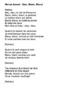 "Cloze Song Activity : ""Bleu, Blanc, Blond"" by Marcel Amont"