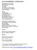 """Cloze Song Activity : """"La Peine Maximum"""" from the musical Les 10 Commandements"""