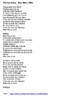 """Cloze Song Activity : """"Mon Mec à Moi"""" by Patricia Kaas"""
