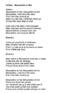 "Cloze Song Activity : ""Mousseline et Moi"" from Caillou"