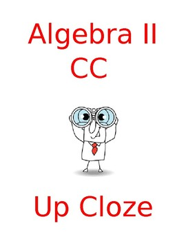 Cloze Unit Summaries for Algebra II CC