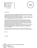 Club/Extra-Curricular Official Letterhead