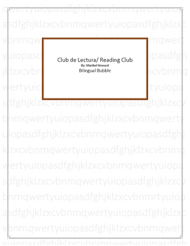 Club de Lectura/ Reading Club *Dual Language*