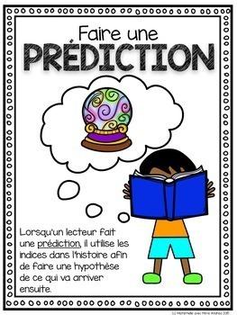 Club de lecteurs - Gédéon va à l'école (FRENCH Reading strategies pack)