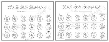 Club des devoirs / Homework's club