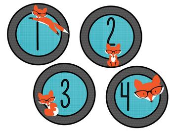 Club des devoirs - renards à lunettes - BLEU