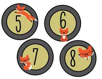 Club des devoirs - renards à lunettes - VERT