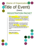 Club/Activity Registration Packet