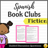Fiction Book Club Guiding Questions {SPANISH}