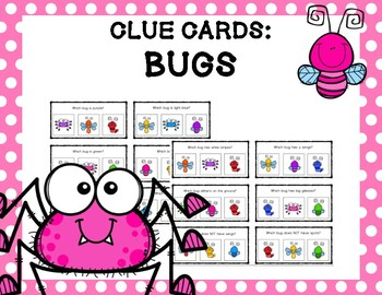 Clue Cards: Bugs