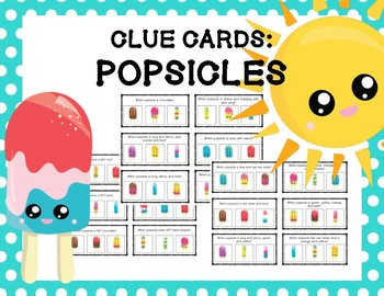 Clue Cards - Popsicles
