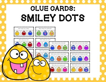 Clue Cards: Smiley Dots