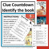 Clue Countdown: Identify the Book