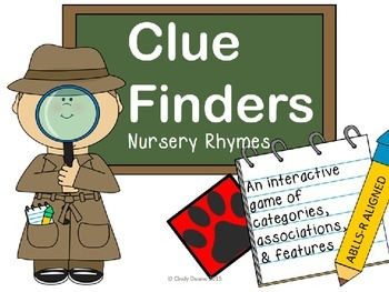 Clue Finders Nursery Rhymes- An interactive ABLLS-R aligned game