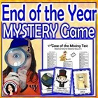 End of the Year Game, Clue Mystery Activity Game for the Whole Class