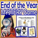 End of the Year Activity Mystery Game for the Whole Class