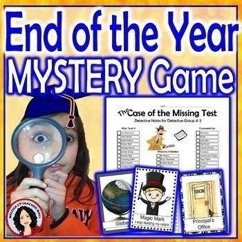 End of the Year Clue Game