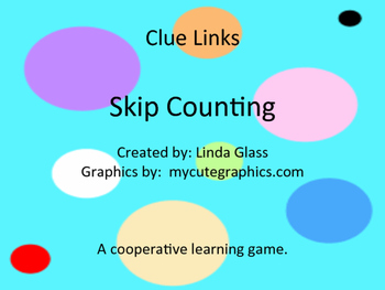 Clue Links Skip Counting