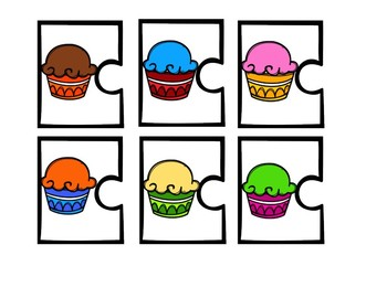 Clue Puzzles: Ice Cream Monsters