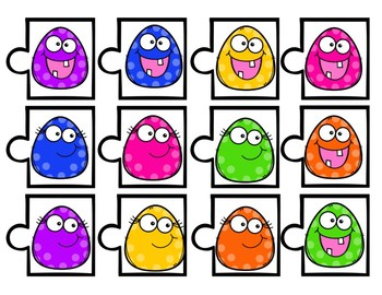 Clue Puzzles: Match the Happy Dots