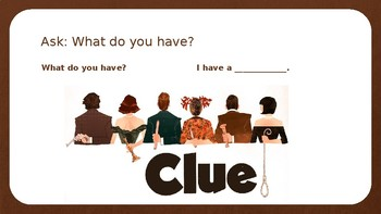 Clue Whodunnit Mystery Game - EDITABLE