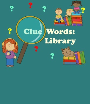 SMART Board Clue Words for Library